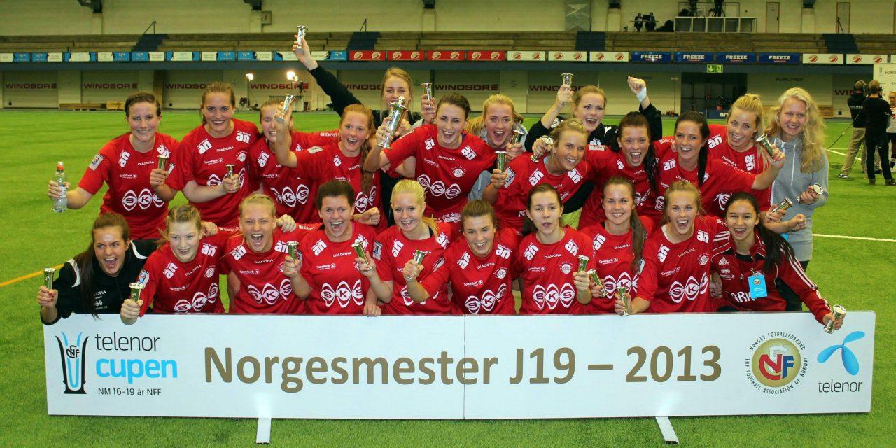 Vinnere Norgesmesterskap J19