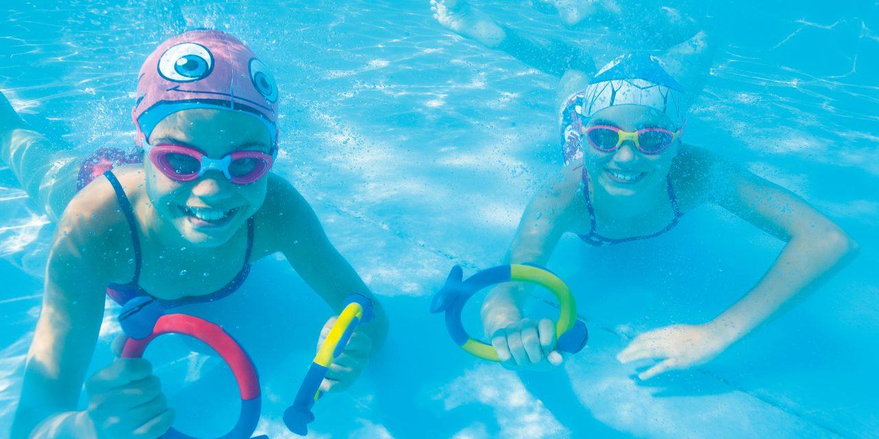 Svømmekurs, dykke etter ringer