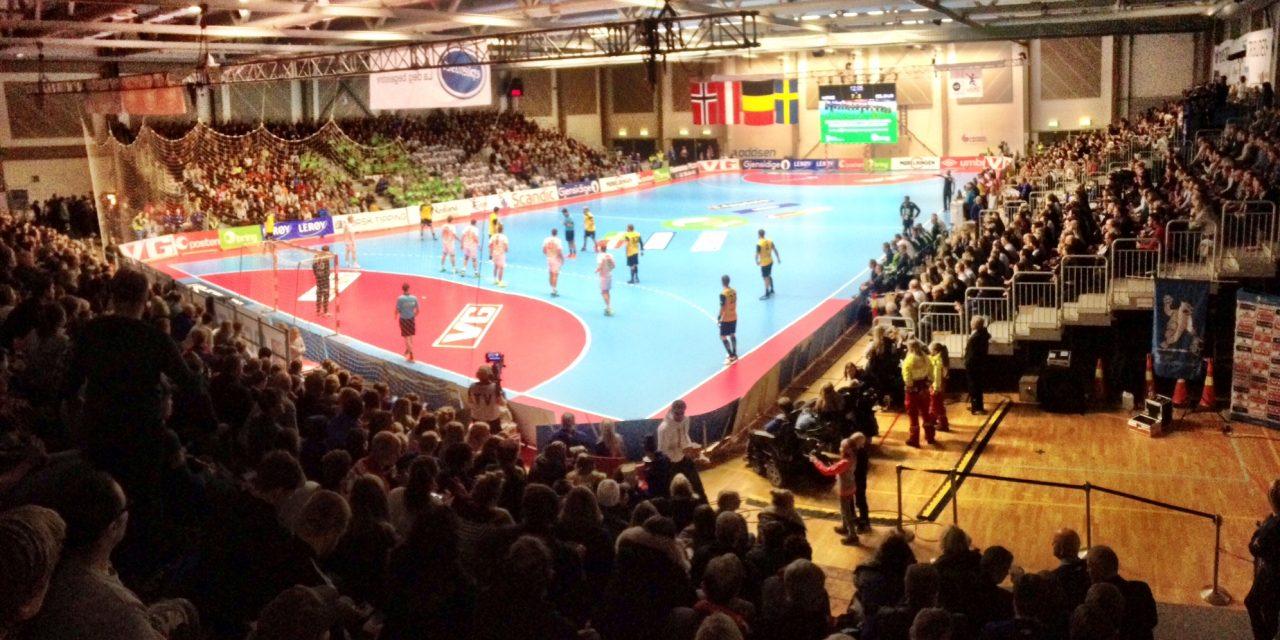 Norge - Belgia i Bodø Spektrum