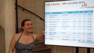 Irene Hansen med resultater pulje 3